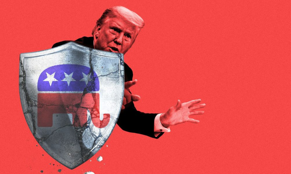 White House The cracks in Trump's GOP shield
